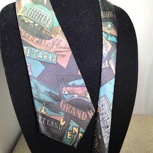 Monte-Carlo Grand Hotel traveler tie